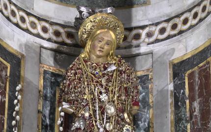 San Sebastiano simulacro
