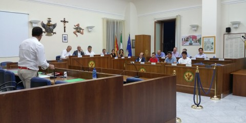 Consiglio Comunale Melilli del 28.08.2015