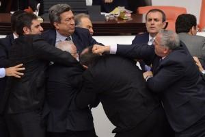 Politici rissa