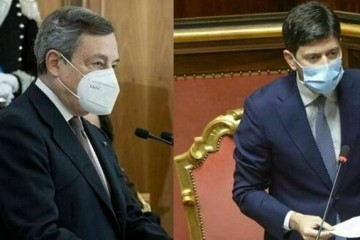 Il premier Draghi e il ministro alla Salute Speranza-2-2
